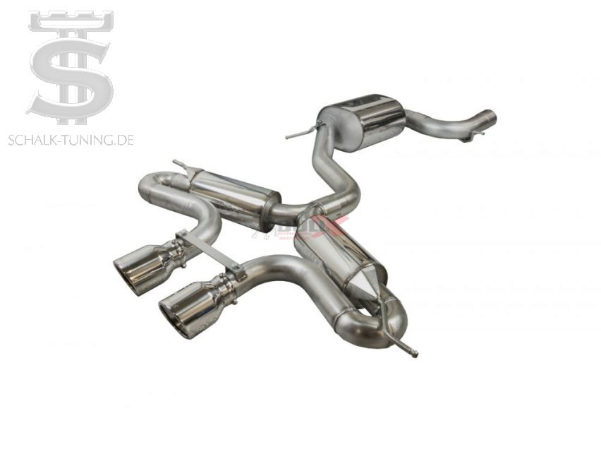 "BULL X ""R32-Look"" Catback Exhaust System for Golf 7 GTI"