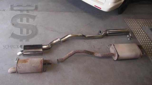 "BULL-X 3 ""VW T5 exhaust system"